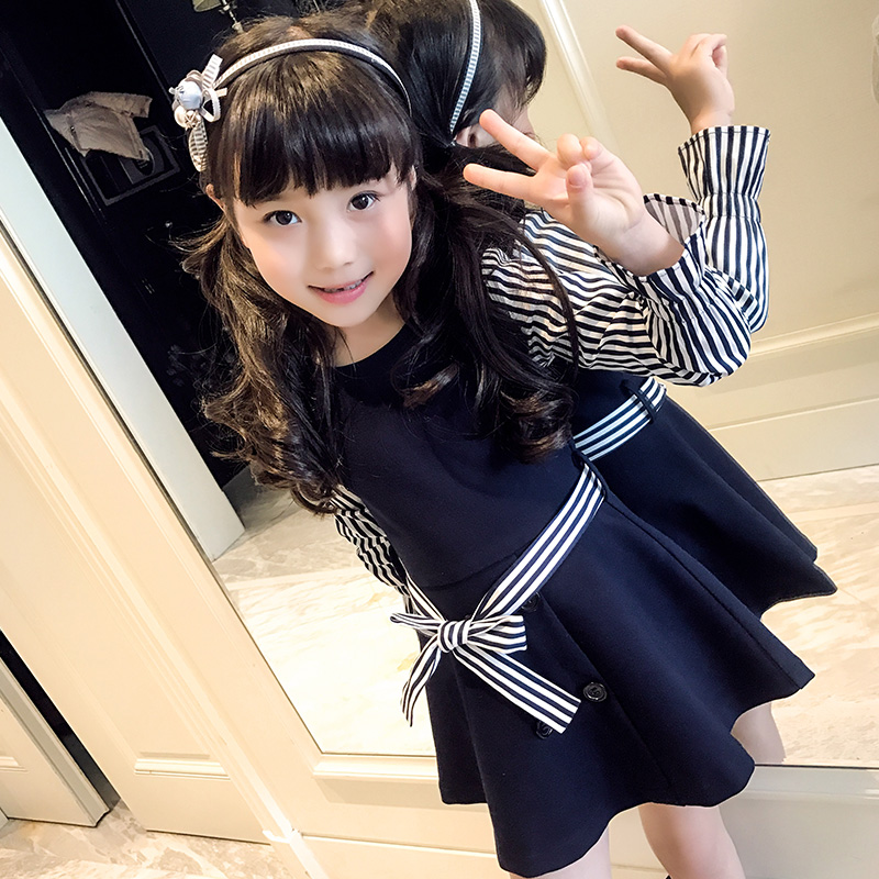 Online Shopping China 2017 Child Girl Clothes Kids Dresses Of Wholesale