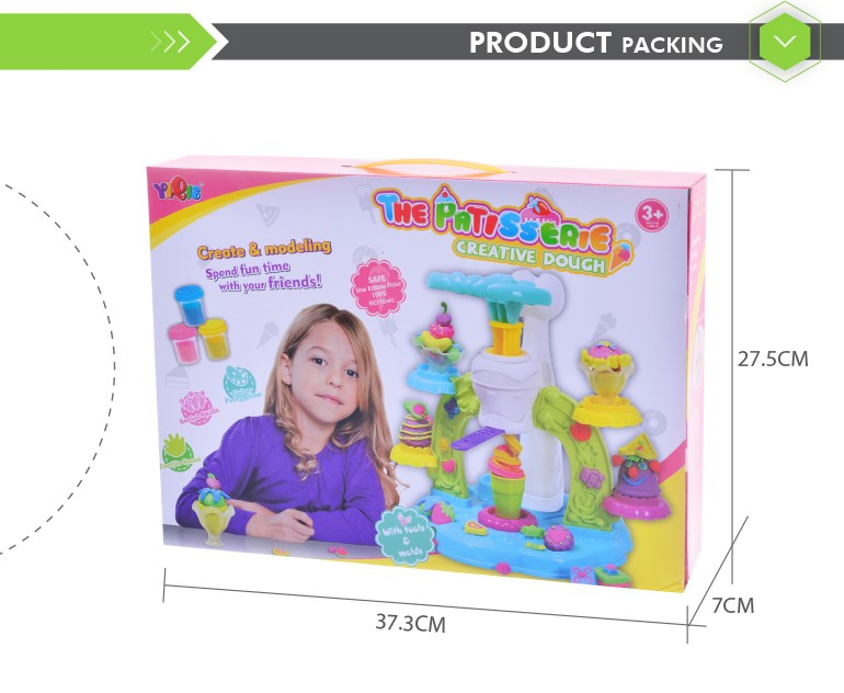 High Quality Diy Play Dough Modeling Expanded Clay With Ice Cream
