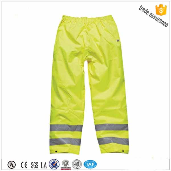 hi vis traffic reflective work trousers