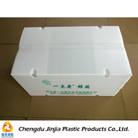 Perforated Collapsible Foldable Plastic Boxes For