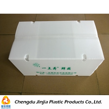 Perforated Collapsible / Foldable Plastic Boxes for Transporting Vegetables