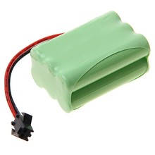 rechargeable aa 700mah 7.2v nimh battery pack