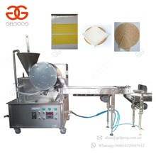 High Export High Capacity Frozen Vegetable Spring Roll Skin Maker Machine Rice Paper Spring Roll Making Machine