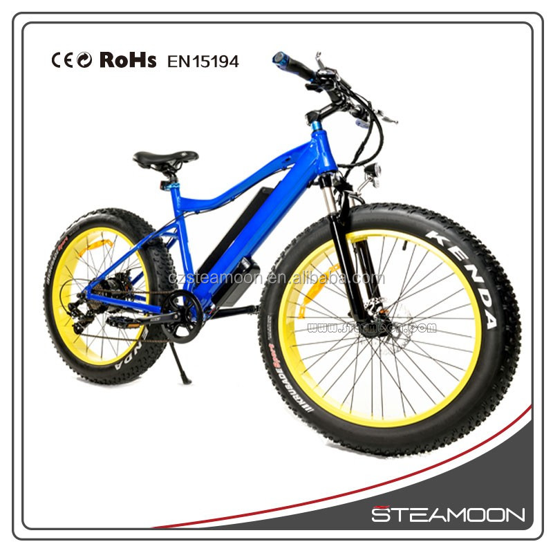 import fat tire e bike wheel mountain electric bike with 500W brushless motor