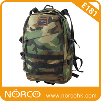 Hiking Backpack, Camouflage Travelling Bag, Duffle Bag
