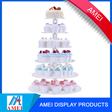 5tier clear acrylic buffet display stand cupcakes lollipop display stand