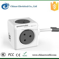 Wholesale indian wiring power socket, indian power cube made in china indian electrical socket