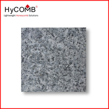 Thin and Light weight Granite Stone Panel / Aluminium Stone Composite Panel for exterior cladding