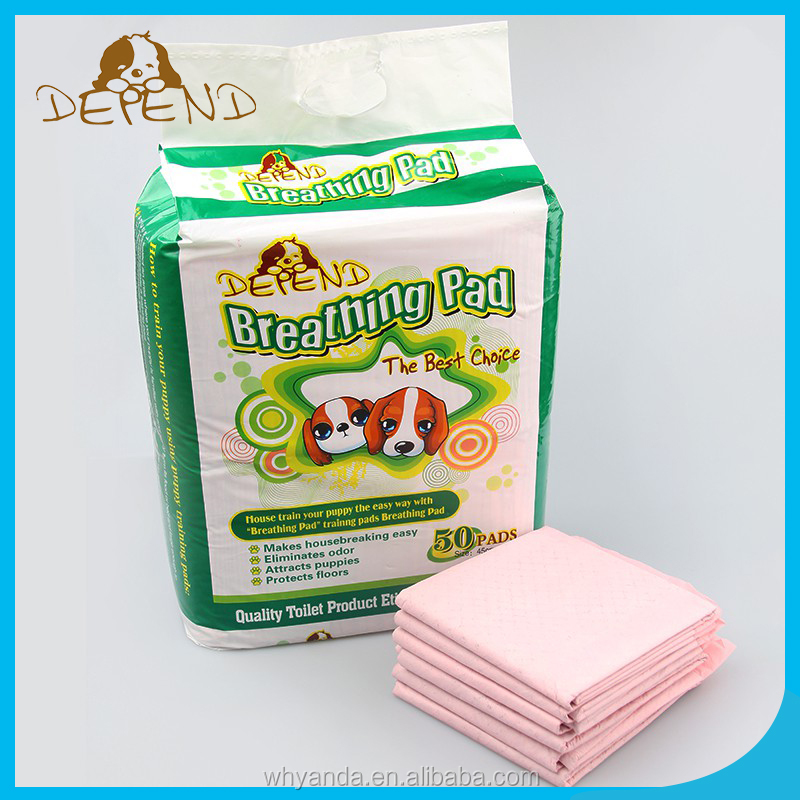 Large Size Dog Pet Urine Pads Disposable 5 Layer Super Absorbent Cheap Dog Training Pads