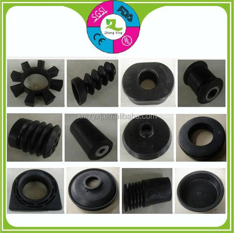Custom made rubber gaskets bushing auto damping plastic parts
