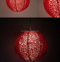 Chinese hanging paper lantern from folk art and crafts