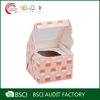 Wholesale Fashion Elegant mini cupcake boxes