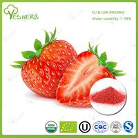 YESHERB supply fruit powder organic freeze dried strawberry powder