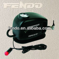 air pump for car tires and bikes with cigarette lighter plug