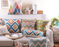 Hot selling upholstery sofa furniture pillow ,custom square and rectangle and round pp cotton sofa throw pillows