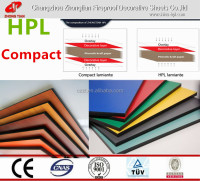Phenolic compact board;melamine laminate ;toilet partition;HPL