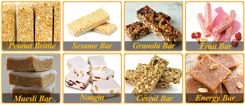 Hot Selling Manufacturers Granola Bar Cereal Bar cutting machine Peanut Crisp Candy Making Machine
