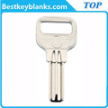 E 344 Custom Brass Painted Types Of door Blank key Manufacturers in china