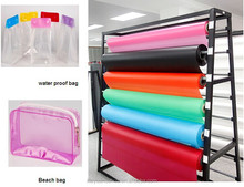 Eco friendly colored PEVA film for bags making