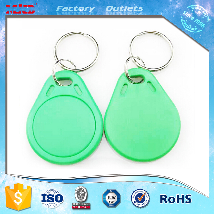 MDK29 125khz 13.56mkz RFID hotel room key tag with custom design