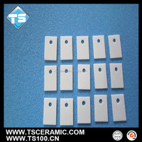 Heat resistant 95% al2o3 alumina ceramic substrate with hole