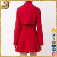 OEM factory price trench coat womans, shaggy furry trench coat, designer western-style coats
