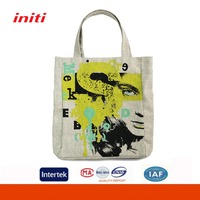 Durable hot sale cotton shopping bag