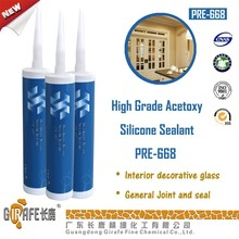 High Grade Fast Cure Acetic Silicone Sealant