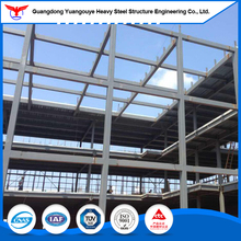 GB Q345 Steel Structure Prefab multi-storey industrial building/ Steel Frame Building