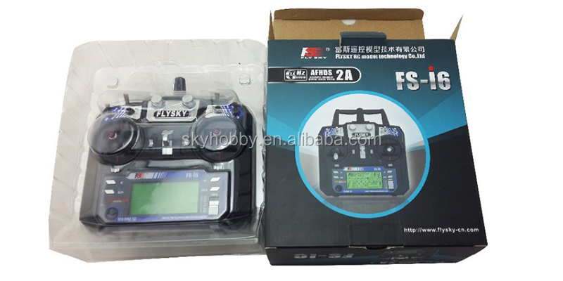 New Version FS FlySky FS-i6 2.4G 6ch Transmitter and Receiver System LCD screen for RC helicopter