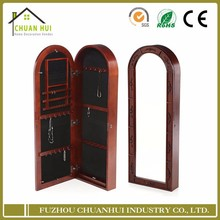 Wholesale standing mirror wall mount jewelry cabinet