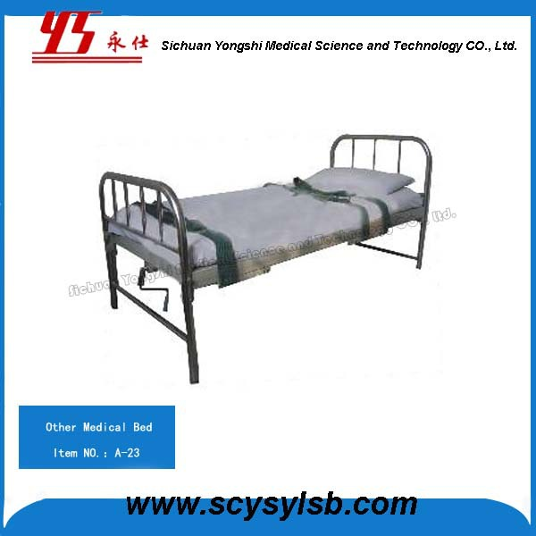 Durable Steel Frame Mental Hospital Jail Handicap Beds Restraints Room Furniture