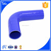 China suppliers blue 90 degree flexible rubber hose pipe