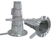 Stainless steel temporary cone filter(factory)