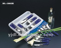 Multi-purpose cutlery kinds of flatwares set
