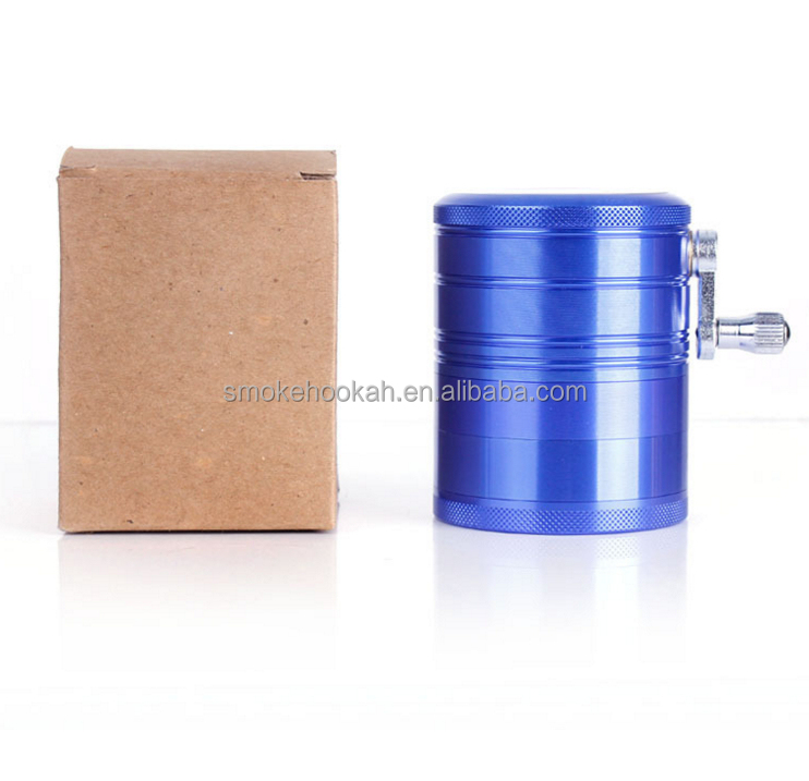 China online selling zinc and aluminum herb grinder, manual grinder weed, portable weed grinder