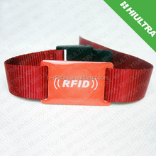 custom Fabric NFC wristband for ID identification