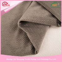 Environmentally polyester types of sofa material fabric for sale