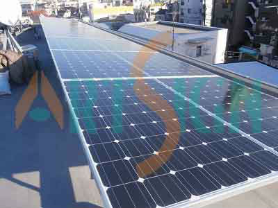 Sstand-alone solar power system for rooftop energy solutions
