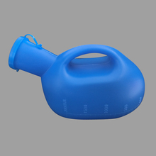 Hospital PE Urine Chamber Pot Container Plastic Female Male Urinal Bottle Bed Urinal