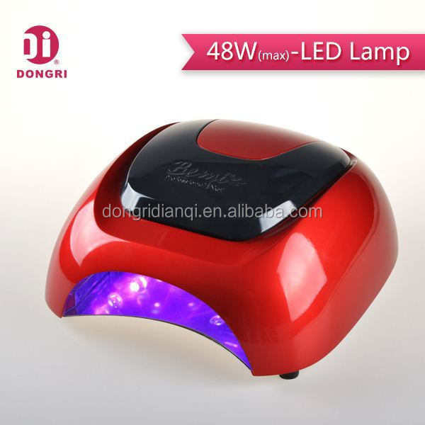 60w manicure uv led nail curing lamp with digital display