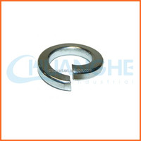 China supplier clip wave spring washer with zinc plated