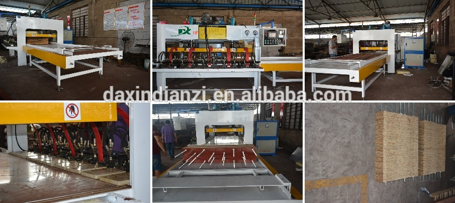 China Daxin Factory New Type High Frequency Wood Board Joining Machine