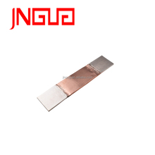 red smooth copper foil soldered flexible copper connector