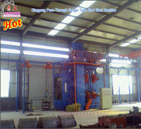 Tricycle Frame Used Shot Blasting Abrator