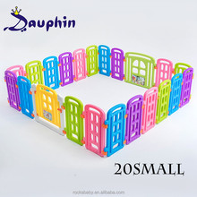 2017 Child Plastic Playpen Safety Gate Play Pen wholesale