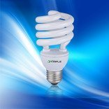 9w spare parts 9mmspiral cfl energy saving lighting bulb