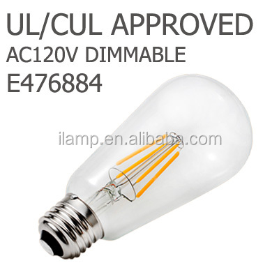 3 years warranty UL/PSE approved 2watt/ 4watt led bulb filament for Japan