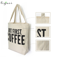 Canvas Material And Handled Style Canvas Tote Bag