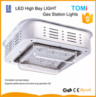 Ebay europe all product gas station lighting industiral sheds used IP65 Bridgelux 100w bridgelux led high bay light